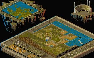 POPULOUS II : TRIALS OF THE OLYMPIAN GODS [ST] image